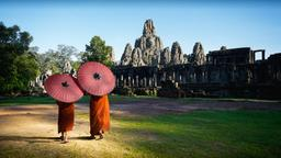 Find cheap flights from Tel Aviv to Cambodia