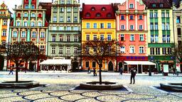 Find cheap flights from Tel Aviv to Wroclaw