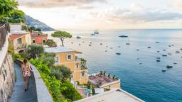 Find cheap flights to Positano