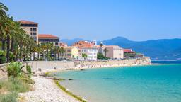 Find cheap flights from Tel Aviv to Ajaccio